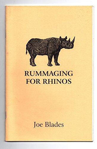 9780969850373: Rummaging for rhinos