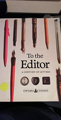 To the Editor: A Century of Letters: n/a
