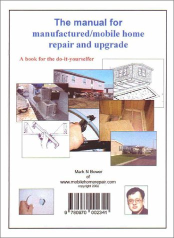9780970002341: The Manual for Manufactured/Mobile Home Repair and Upgrade