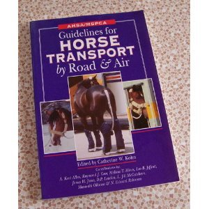 Guidelines for Horse Transport By Road