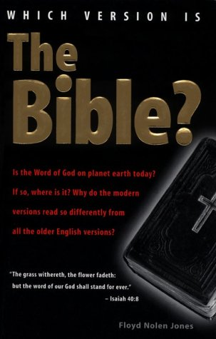 9780970032805: Which Version Is The Bible?