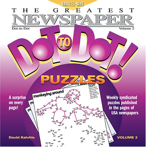 9780970043771: Greatest Newspaper Dot-to-Dot Puzzles (Vol. 2) - Summer Travel - Mini Travel Size (5.5