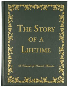 9780970062697: The Story of a Lifetime: A Keepsake of Personal Memoirs (Green)