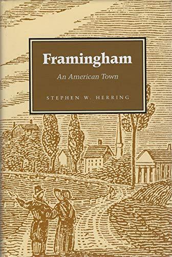9780970077219: Framingham: An American Town