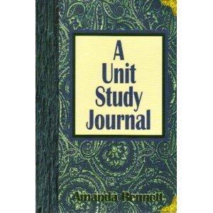 9780970094834: A Unit Study Journal