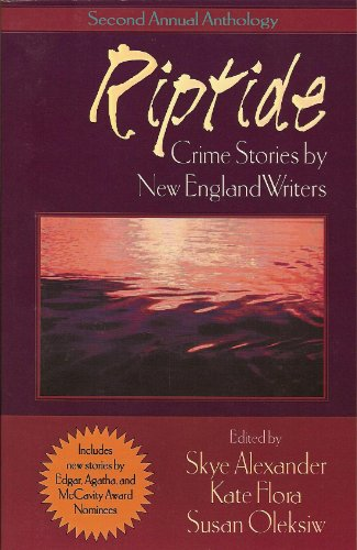 9780970098412: Riptide: Crime Stories by New England Writers