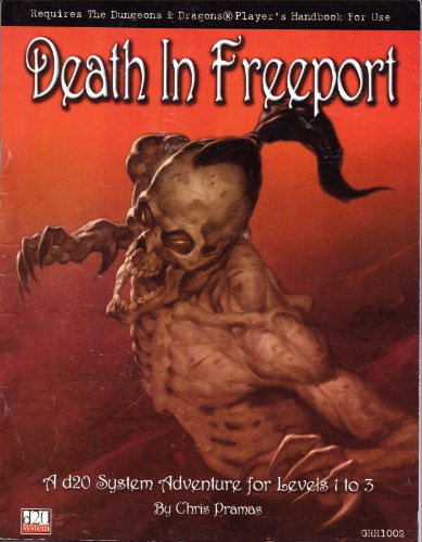 9780970104816: Death in Freeport: A D20 System Adventure for Levels 1 to 3