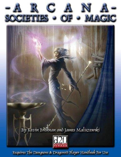 9780970104861: Arcana Societies of Magic