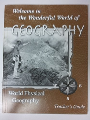 9780970111210: Welcome to the Wonderful World of Geography (Teacher's Guide)