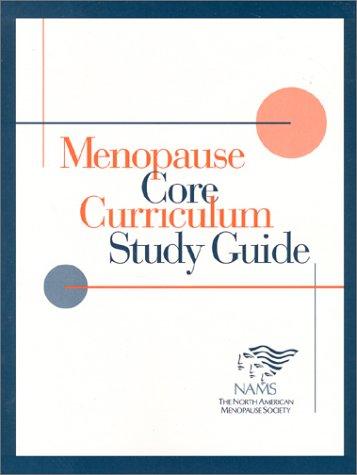 9780970125101: Menopause Core Curriculum Study Guide