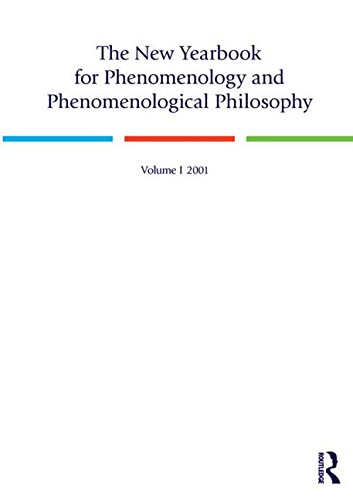 9780970167910: The New Yearbook for Phenomenology and Phenomenological Philosophy: Volume 1