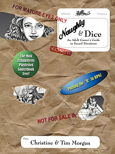 Naughty & Dice: An Adult Gamer's Guide: Morgan, Christine