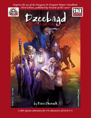 9780970239785: Dzeebagd : Under Dark and Misty Ground (Dungeons & Dragons D20)