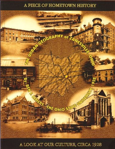 9780970262196: A Piece of Hometown History: The Urban Geography of Zanesville Ohio - A Look at Our Culture, circa 1928