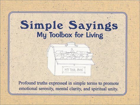 Simple Sayings: My Toolbox for Living: P., David