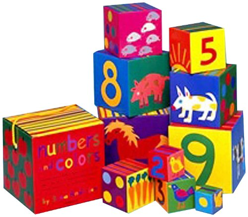 9780970278432: Numbers and Colors Nesting Blocks