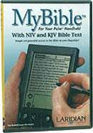9780970290014: My Biblewith NLT and NKJV Bible Text for Palm Handheld