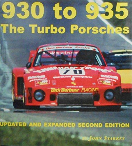 9780970325907: 930 to 935 the Turbo Porsches