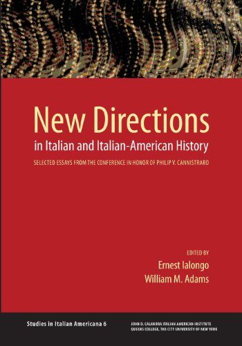 9780970340399: New Directions in Italian and Italian American History
