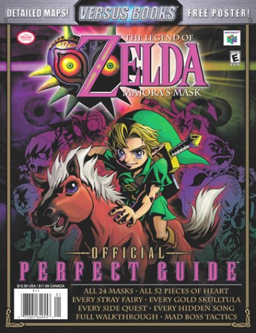 9780970347367: The Legend of Zelda: Majora's Mask Official Perfect Guide (Versus Books)