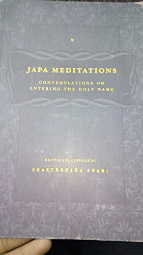 9780970358127: Japa Meditations. Contemplations on Entering the Holy Name.
