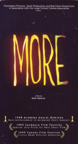 9780970367709: MORE [VHS]
