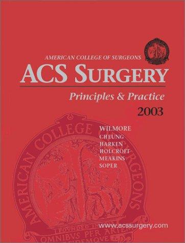 9780970390240: ACS Surgery: Principles and Practice