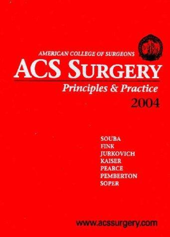9780970390271: ACS Surgery: Principles & Practice