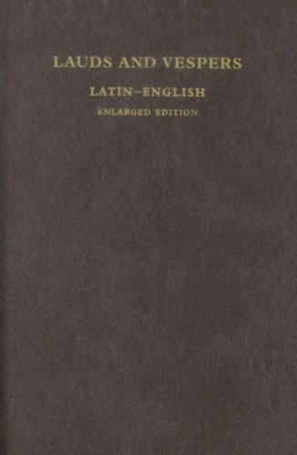 9780970402295: Lauds and Vespers: Latin-English Enlarged Edition (Latin and English Edition)
