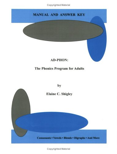 9780970413321: AD-PHON : The Phonics Program for Adults, Manual and Answer Key