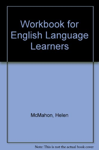 9780970419507: Workbook for English Language Learners