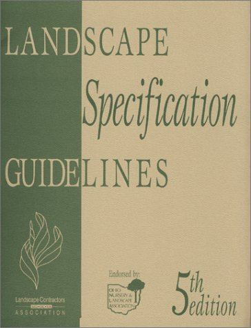 9780970472304: Landscape Specification Guidelines, 5th Edition, English Version