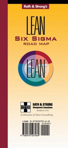 9780970507969: Rath & Strong's Lean & Six Sigma Road Map