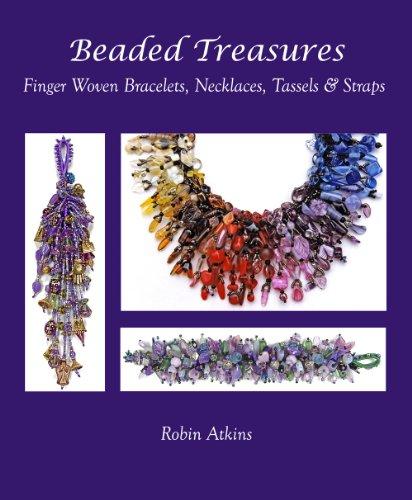 9780970553867: Beaded Treasures, Finger Woven Bracelets, Necklaces, Tassels & Straps