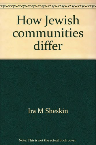 9780970574114: How Jewish communities differ: Variations in the findings of local Jewish population studies