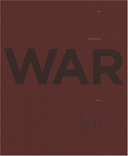 War: USA.Afghanistan.Iraq: VII; Nachtwey, James;
