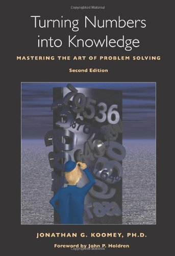 9780970601919: Turning Numbers into Knowledge: Mastering the Art of Problem Solving