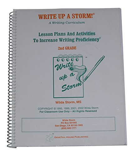 9780970624420: Write Up a Storm! A Writing Curriculum (2nd Grade)