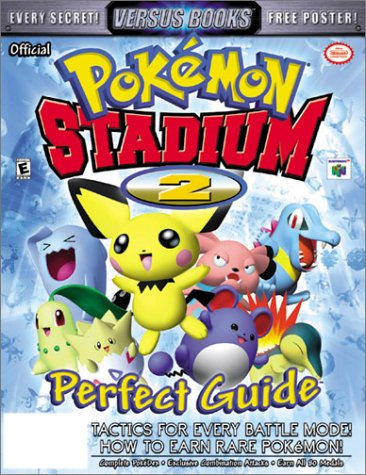 9780970646811: Official Pokemon Stadium 2 Perfect Guide - Versus Books [Reino Unido]