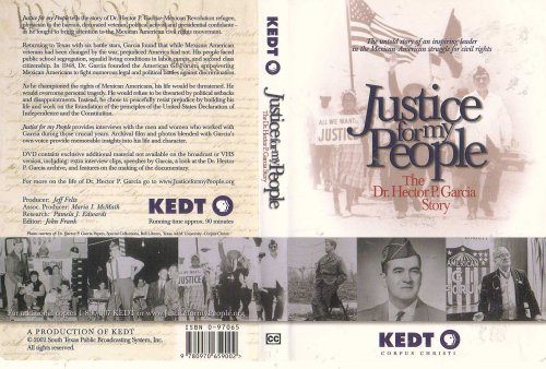 9780970659002: Justice for My People: The Dr. Hector P. Garcia Story