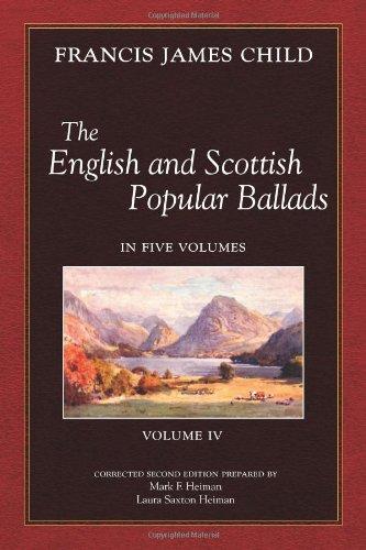 9780970702081: The English and Scottish Popular Ballads, Vol 4
