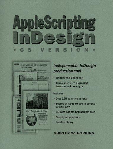 9780970726520: AppleScripting InDesign