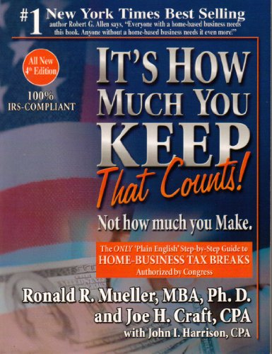 9780970753892: It's How Much You Keep That Counts! Not What You Make.