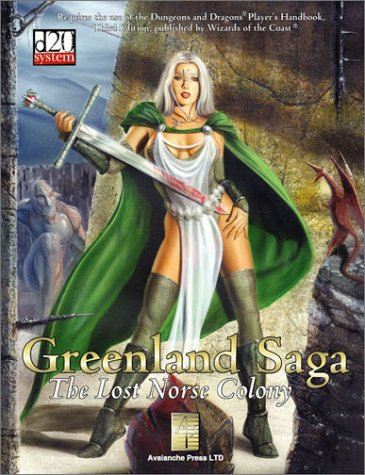 9780970796127: Greenland Saga: The Lost Norse Colony (d20 3.0 Fantasy Roleplaying Supplement