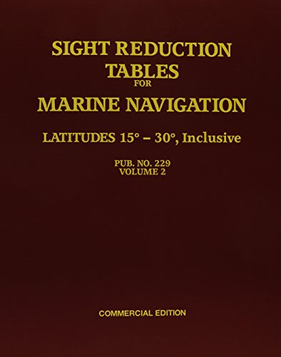 Sight Reduction Tables for Marine Navigation-Commercial Edition: National Imagery and