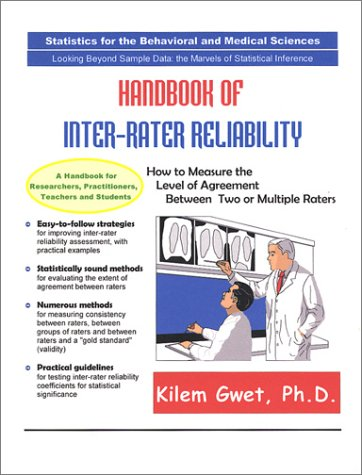9780970806208 Handbook Of Inter Rater Reliability Abebooks