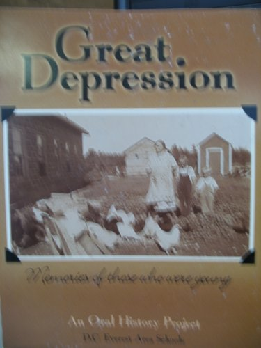 Great Depression: Memories of those who were young (An Oral History Project)