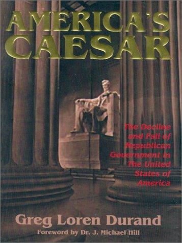 9780970852502: America's Caesar