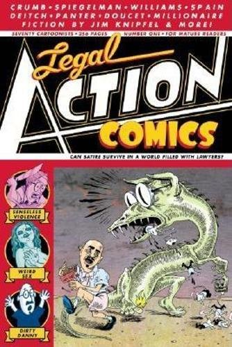 9780970936301: Legal Action Comics