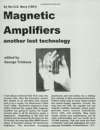 9780970961853: Magnetic Amplifiers